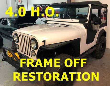 1975 Jeep CJ-5 for sale at Muscle Car Jr. in Alpharetta GA