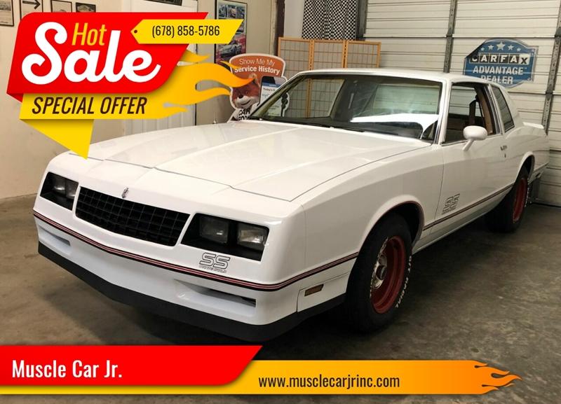1985 Chevrolet Monte Carlo - Alpharetta, GA