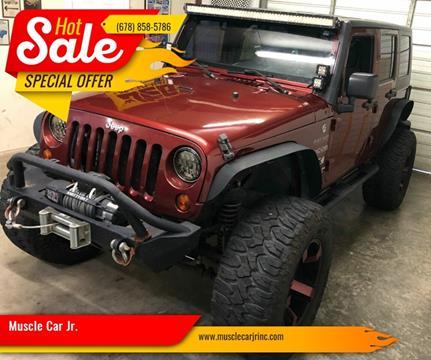 2008 Jeep Wrangler Unlimited for sale in Alpharetta, GA
