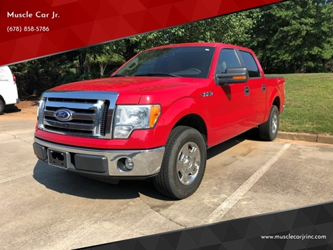 2010 Ford F-150 XLT for sale at Muscle Car Jr. in Alpharetta GA