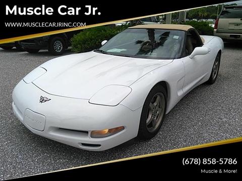 2004 Chevrolet Corvette for sale at Muscle Car Jr. in Alpharetta GA