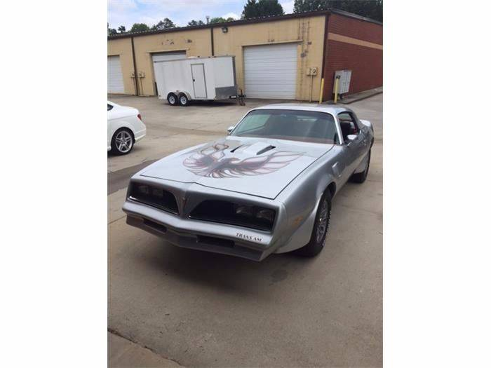 1977 Pontiac Firebird Trans Am for sale at Muscle Car Jr. in Alpharetta GA