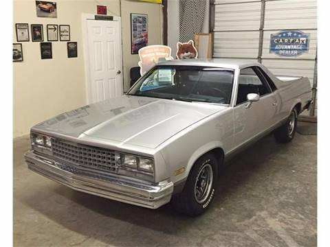 1986 Chevrolet El Camino for sale at Muscle Car Jr. in Alpharetta GA