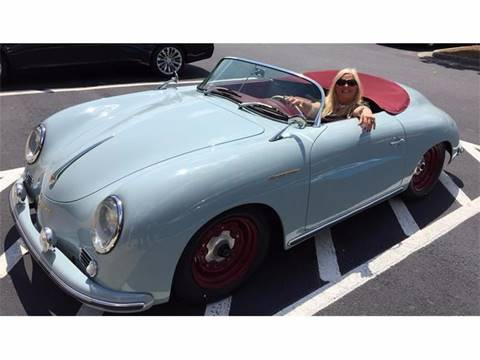 Porsche 356 Speedster For Sale In Alpharetta Ga