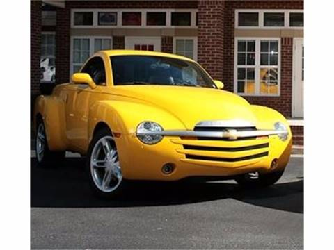 2003 Chevrolet SSR for sale at Muscle Car Jr. in Alpharetta GA