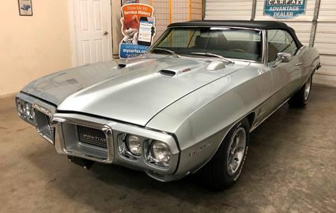 1969 Pontiac Firebird for sale at Muscle Car Jr. in Alpharetta GA