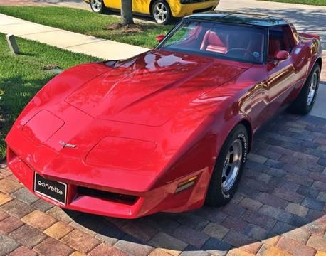 1981 Chevrolet Corvette for sale at Muscle Car Jr. in Alpharetta GA