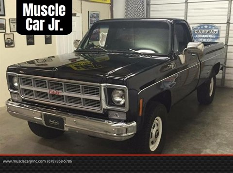 1977 GMC Sierra 2500HD for sale at Muscle Car Jr. in Alpharetta GA