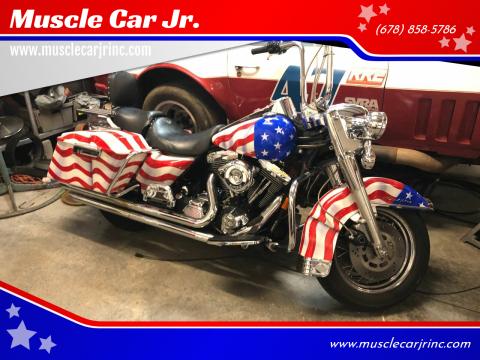 1997 Harley-Davidson Road King FLHR for sale at Muscle Car Jr. in Alpharetta GA