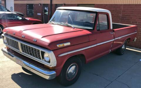 1970 Ford F-100 for sale at Muscle Car Jr. in Alpharetta GA