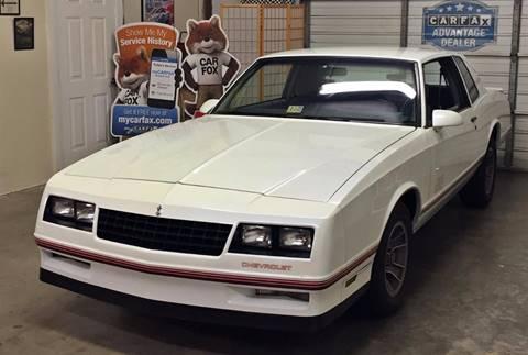 1988 Chevrolet Monte Carlo for sale at Muscle Car Jr. in Alpharetta GA