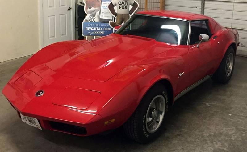 1973 Chevrolet Corvette for sale at Muscle Car Jr. in Alpharetta GA