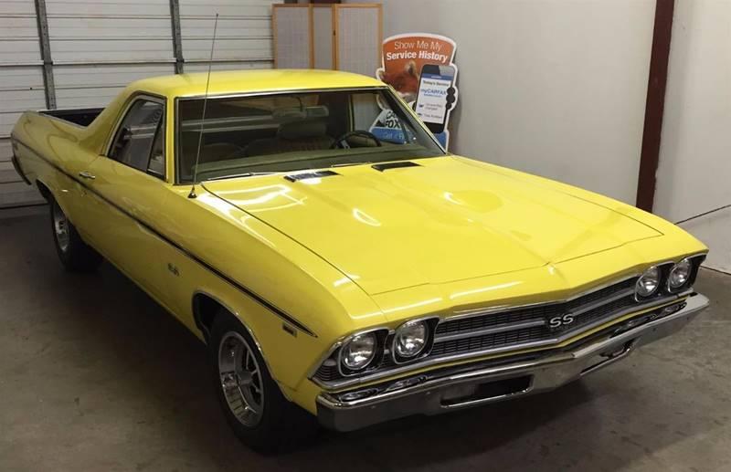 1969 Chevrolet El Camino for sale at Muscle Car Jr. in Alpharetta GA