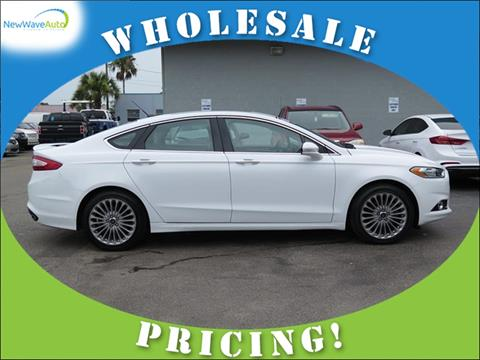 2016 Ford Fusion for sale in Clearwater, FL