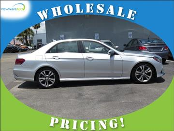 2014 Mercedes-Benz E-Class for sale in Clearwater, FL