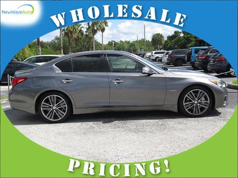 2014 Infiniti Q50 Hybrid for sale in Clearwater, FL