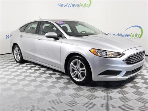 2018 Ford Fusion Hybrid for sale in Clearwater, FL