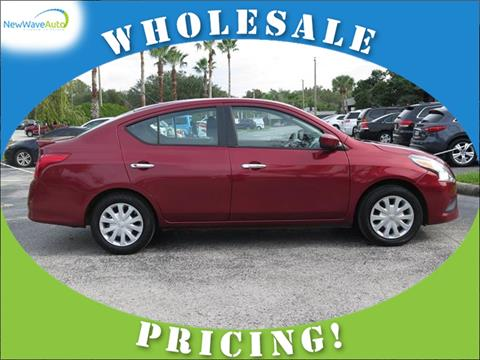 2016 Nissan Versa for sale in Clearwater, FL