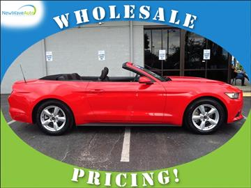 2015 Ford Mustang for sale in Clearwater, FL