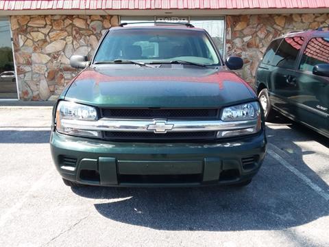 2003 Chevrolet TrailBlazer for sale at L & M Auto Broker in Stone Mountain GA