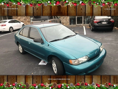 1999 Nissan Sentra for sale at L & M Auto Broker in Stone Mountain GA