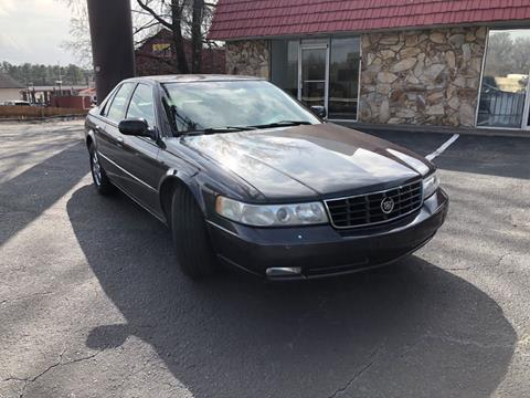 2002 Cadillac Seville for sale at L & M Auto Broker in Stone Mountain GA