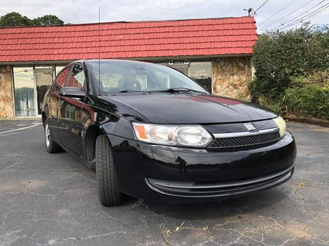 2004 Saturn Ion for sale at L & M Auto Broker in Stone Mountain GA