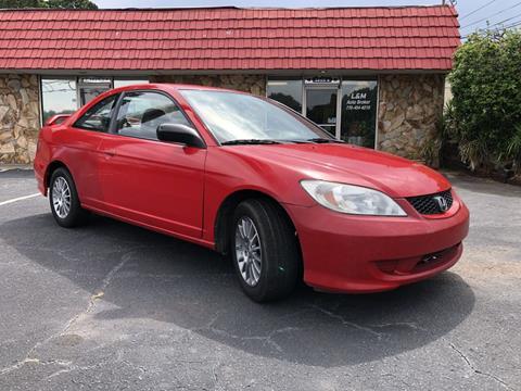 2005 Honda Civic for sale at L & M Auto Broker in Stone Mountain GA