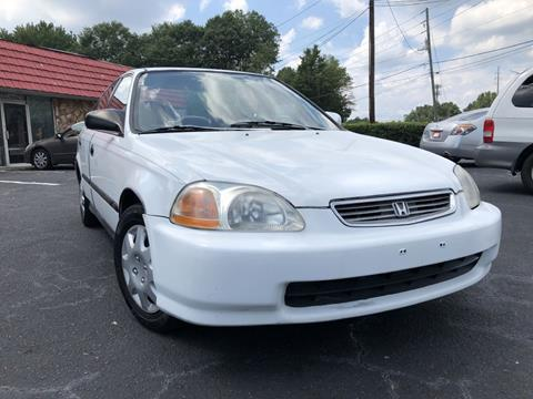 1996 Honda Civic for sale at L & M Auto Broker in Stone Mountain GA