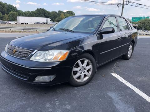 2002 Toyota Avalon for sale at L & M Auto Broker in Stone Mountain GA