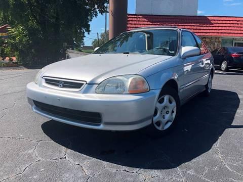 1998 Honda Civic for sale at L & M Auto Broker in Stone Mountain GA