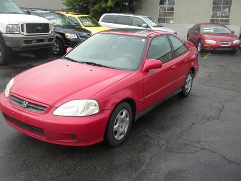1999 Honda Civic Lx >> 1999 Honda Civic For Sale In Roseville Mi