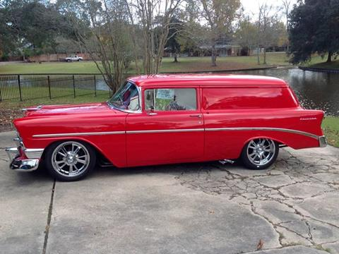 1956 Chevrolet Sedan Delivery for sale at Bayou Classics and Customs in Parks LA
