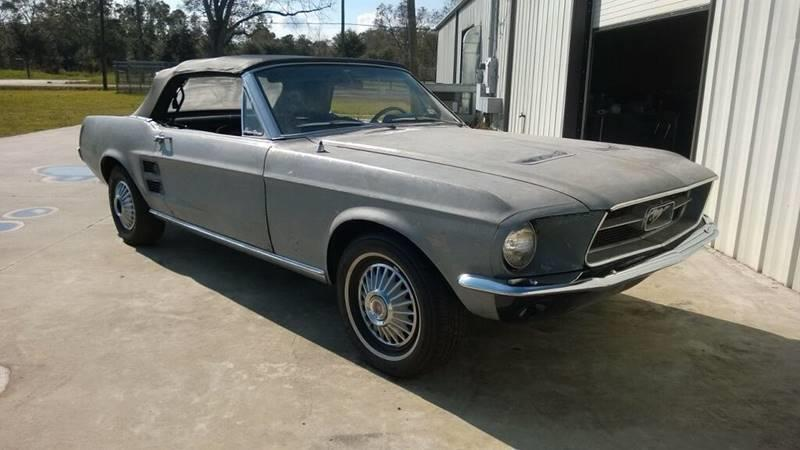 1967 Ford Mustang for sale at Bayou Classics and Customs in Parks LA