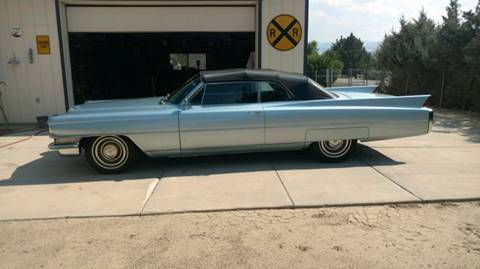 1963 Cadillac DeVille for sale at Bayou Classics and Customs in Parks LA