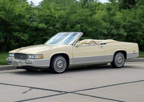 1989 Cadillac DeVille for sale at Bayou Classics and Customs in Parks LA