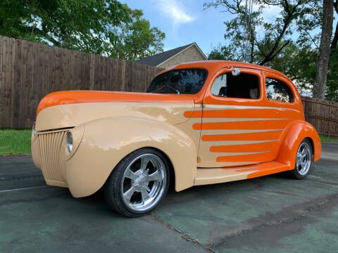 1940 Ford Slantback for sale at Bayou Classics and Customs in Parks LA