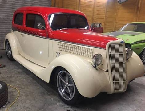 1935 Ford Slantback for sale at Bayou Classics and Customs in Parks LA