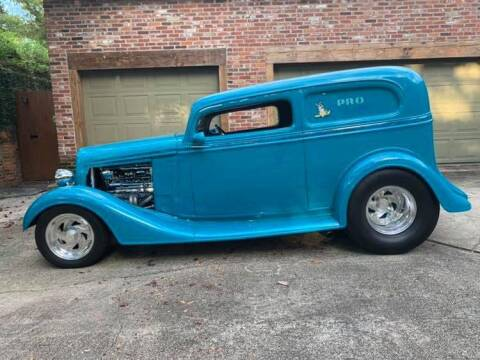 1934 Chevrolet Sedan Delivery Street Rod for sale at Bayou Classics and Customs in Parks LA