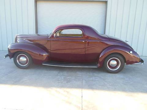 1940 Ford Deluxe for sale at Bayou Classics and Customs in Parks LA