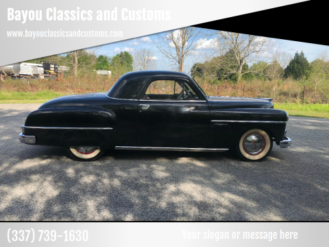 1950 Dodge Wayfarer for sale at Bayou Classics and Customs in Parks LA
