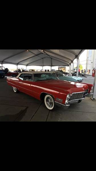 1968 Cadillac DeVille for sale at Bayou Classics and Customs in Parks LA