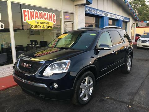 2008 GMC Acadia for sale in Franklin, OH