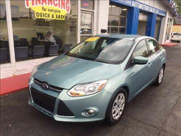 2012 Ford Focus for sale in Franklin, OH