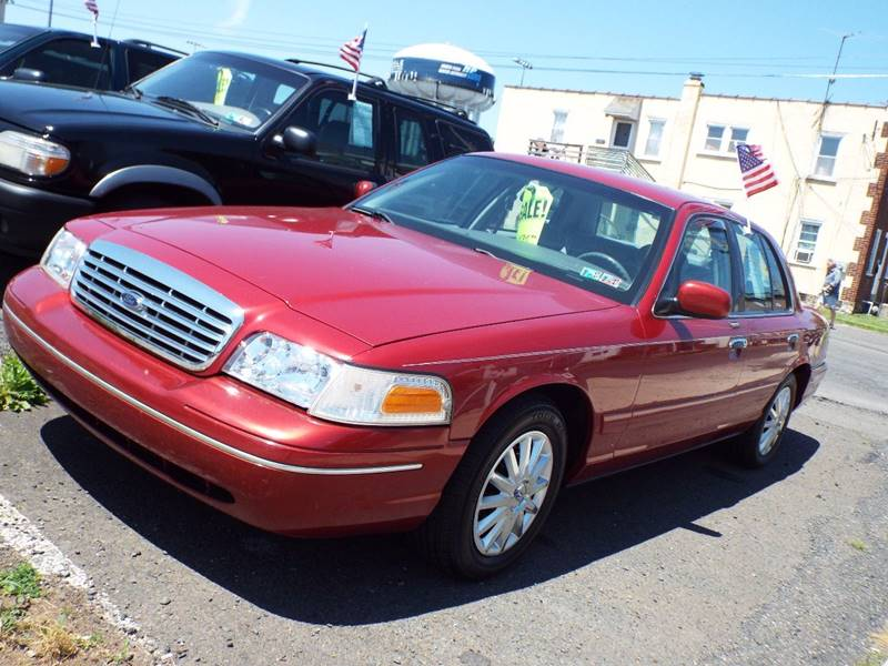 Ford Crown Victoria LX Dr Sedan In Lansdale PA - 2001 crown victoria