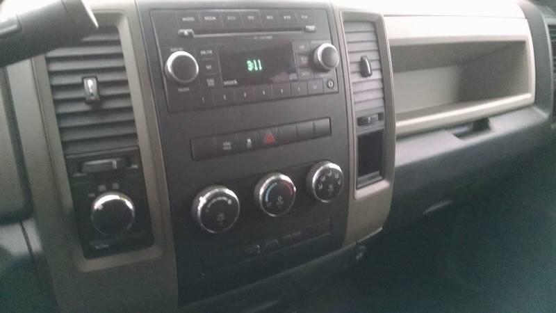 2012 RAM Ram Pickup 1500 4x4 ST 4dr Quad Cab 6.3 ft. SB Pickup - Elba NY