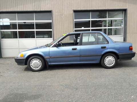 1991 Honda Civic for sale at Westside Motors in Mount Vernon WA