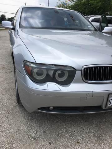 2005 BMW 7 Series 745i 4dr Sedan - San Antonio TX