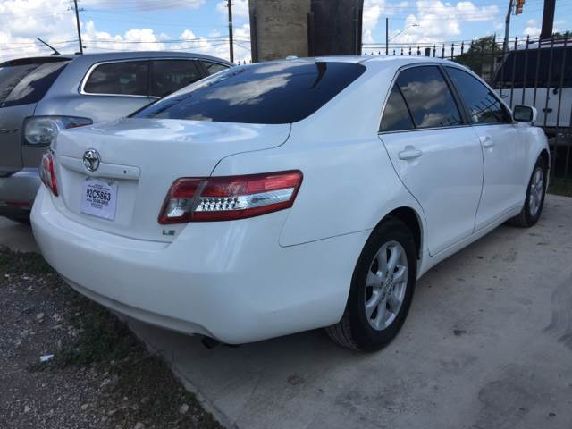2010 Toyota Camry LE 4dr Sedan 6A - San Antonio TX