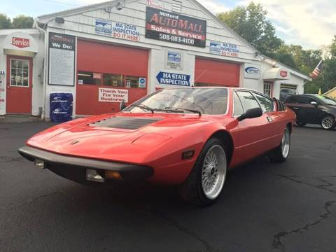 1976 Lamborghini URRACO for sale at Milford Automall Sales and Service in Bellingham MA